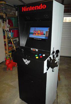 Borne arcade Super NES - 1