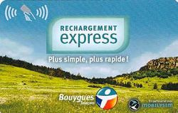 Bouygues Telecom sans contact