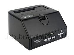 Brando SATA HDD Multimedia Dock
