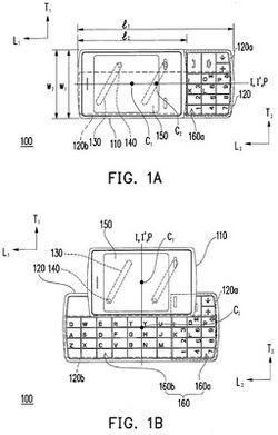 brevet clavier HTC