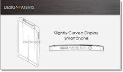 brevet samsung smartphone incurvé