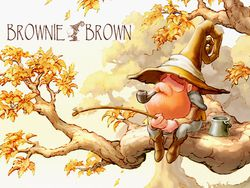 Brownie Brown   logo
