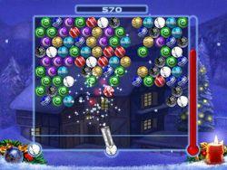 Bubble Xmas screen