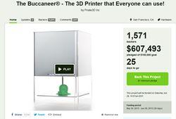Buccaneer imprimante 3D