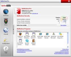 BufferZone Pro screen1