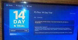 Bug PlayStation Plus gratuit - 1