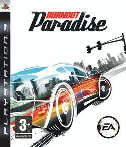 Burnout Paradise   jaquette