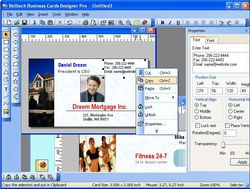 Business Card Designer Pro screen 2