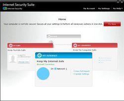 CA Internet Security Suite Plus v7 screen 2
