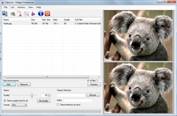 Caesium - Image Compressor screen1