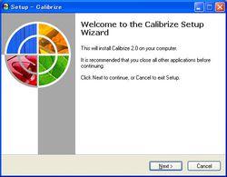Calibrize screen 2