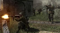 Call Of Duty 3 en marche vers paris image (21)