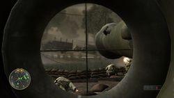 Call Of Duty 3 en marche vers paris image (3)
