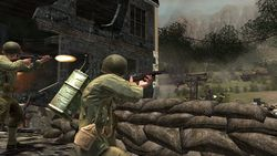 Call Of Duty 3 en marche vers paris image (5)