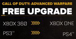 Call of Duty Advanced Warfare - transfert gratuit