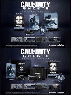 Call of Duty Ghosts - Hardened et Prestige