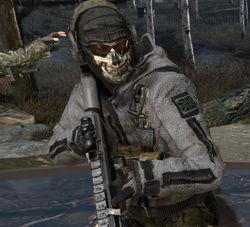 Call of Duty Modern Warfare - Ghost