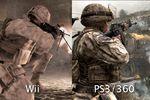 Call of Duty : Modern Warfare Reflex - comparatif 1