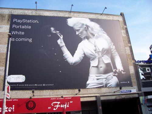 Campagne pub sony
