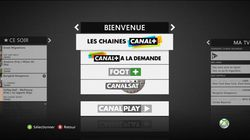 Canal + Xbox 360