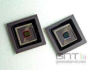 Capteur cmos samsung 3 megapixels
