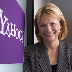 Carol Bartz Yahoo logo pro