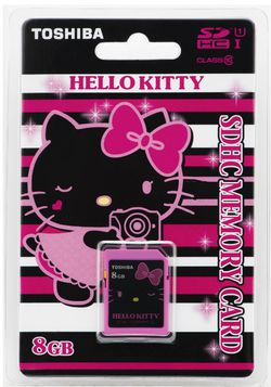 Carte mémoire Hello Kitty 1