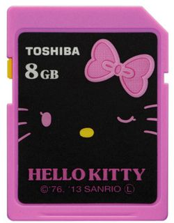 Carte mémoire Hello Kitty 2