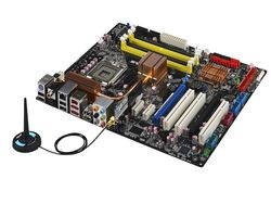 Carte mere asus p5k deluxe wi fi ap chipset intel p35 carte