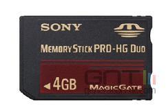 Carte sony memory stick pro hg