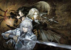 Castlevania Harmony of Despair - artwork