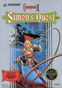 Castlevania II : Simon\\\'s Quest - Packaging