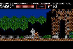 Castlevania NES - 1