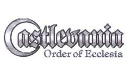 Castlevania : Order of Ecclesia   logo.