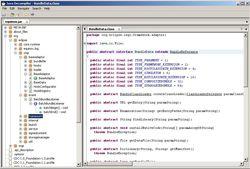 Cavaj Java Decompiler screen1