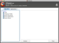 CCleaner Mac OS 1