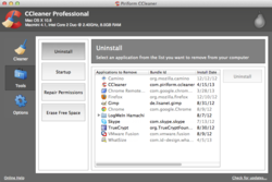 CCleaner OS X 1