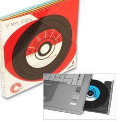 CD vierge vinyle