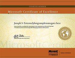 Certificat mcp microsoft