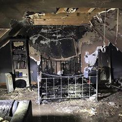 Chambre après feu iPhone