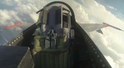 chasseur F16 drone