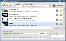 ChrisPC Free Video Converter screen2