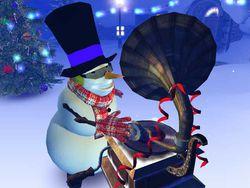 Christmas 3D screen 1