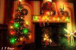 Christmas Magic 3D : un salon décoré dans l'esprit de noël sur votre PC