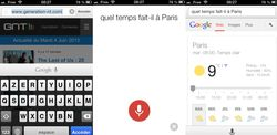 Chrome 27 pour iOS