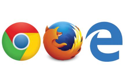 Chrome-Firefox-Microsoft-Edge