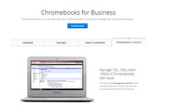 Chromebooks for business
