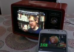 Chromecast vieux téléviseur