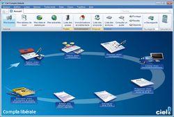 Ciel Compta Libérale 2011 screen