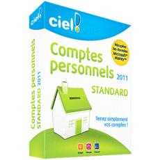 Ciel Comptes Personnels Standard 2011